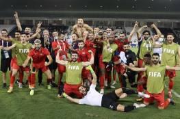 """الرجوب يهنئ """"الفدائي"""" بتأهله إلى نهائيات كأس العرب"""