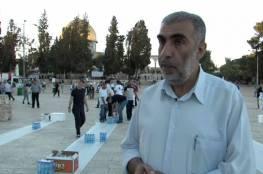 الخطيب: اعتداءات الاحتلال بالقدس هدفها فرض واقع جديد