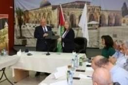 معايعة والشوا يوقعان عقد الإعارة لإنشاء المتحف الفلسطيني للنقد
