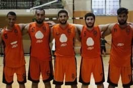 إنجاز مهم لخدمات خانيونس بدوري كرة السلة