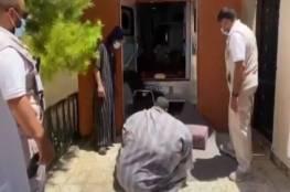 طائرة عسكرية خاصة لنقل مواطن يعاني من السمنة المفرطة إلى الرياض لتلقي العلاج (فيديو)