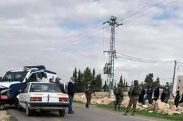 بيت لحم: إصابة مواطن اعترضت دورية لشرطة الاحتلال مركبته بشكل مفاجئ