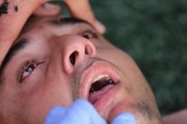 غياب عن الوعي لأكثر من ربع ساعة.. عناية الله تنقذ لاعباً من الموت في دوري غزة (فيديو)