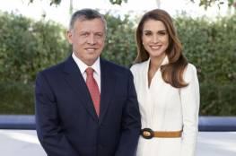 """صورة.. الملكة رانيا للعاهل الأردني: """"إنجازاتكم مفخرة لنا جميعا""""."""