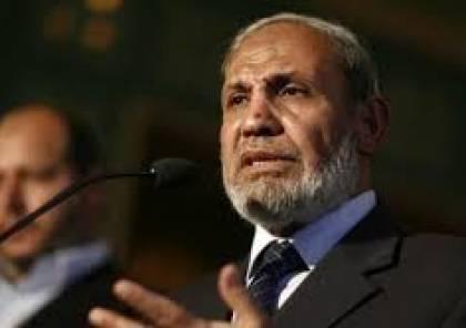 الزهار ينفي تصريحات احمد يوسف حول مقترح مصري بتوسعة دولة غزة