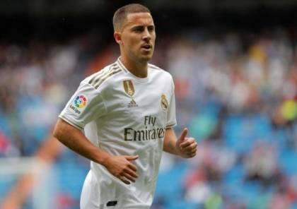 هل سيشارك هازارد في الكلاسيكو ضد برشلونة ؟