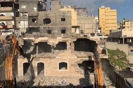 القدس- هدم خيمة عائلة عليان ومناشدة لأهالي العيسوية