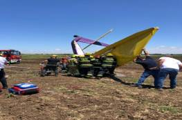مصرع إسرائيلي إثر تحطم طائرة خفيفة