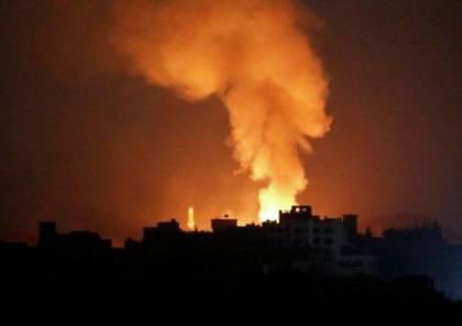 قصف إسرائيلي لمواقع عسكرية للجيش السوري وحزب الله بدرعا والقنيطرة