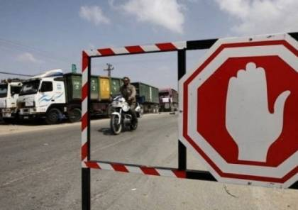 إسرائيل تتذرع بالقصف لعدم إدخال المساعدات الى قطاع غزة