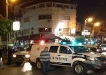 إصابة اثنين من الشرطة الاسرائيلية بإطلاق نار في الطيرة داخل الخط الأخضر