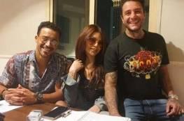 صورة.. أحمد الفيشاوي يثير جدلا بـ نيولوك مع هيفاء وهبي