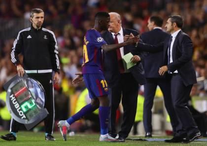 فالفيردي يُطمئن جماهير برشلونة بخصوص ديمبيلي