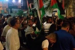 حيفا تتظاهر نصرة لغزة