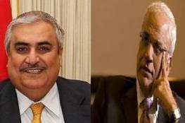 عريقات والشيخ خالد آل خليفة: لا لتغيير مبادرة السلام العربية