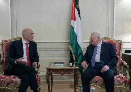 أولمرت يتعرض لحملة من الانتقادات الاسرائيلية بعد لقائه الرئيس عباس