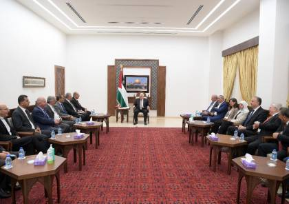 تفاصيل اجتماع الرئيس مع رؤساء الجامعات الفلسطينية في الضفة والقدس