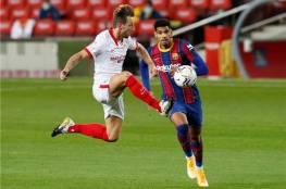فيديو ...برشلونة يكتفي بنقطة التعادل الإيجابي أمام إشبيلية في الليغا