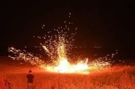 إصابات جراء لفعاليات الارباك الليلي شرقي مخيم البريج