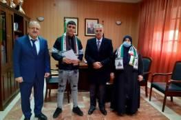سفارة فلسطين في الجزائر تسلم جائزة فيلم الدقيقة الواحدة