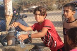 بلدية خان يونس توفر مياه للشرب في المتنزهات العامة وأبراج الإنقاذ البحري والمقار الشرطية