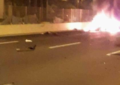 انفجار مركبة مفخخة شمالي تل أبيب