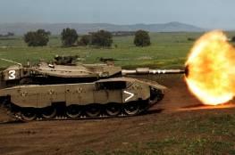 الاحتلال ينفذ تدريبات ضخمة في سلاح المدرعات استعداد لحزب الله