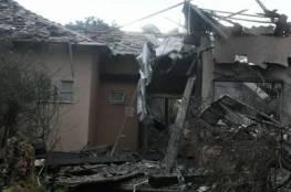 """تدهور حالة المستوطنة التي أصيبت بقصف """"هشارون"""""""