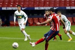 بقيادة سواريز ..أتليتكو مدريد يتصدر الدوري الاسباني بفوزه على التشي( 3-1) فيديو