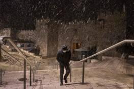 طقس فلسطين: أجواء شديدة البرودة و أمطار غزيرة وثلوج