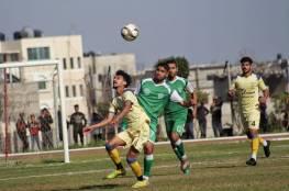5 مباريات في دوري غزة الأحد