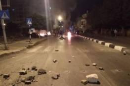 """إصابات في مواجهات """"عنيفة"""" مع الاحتلال جنوب وشرق نابلس"""