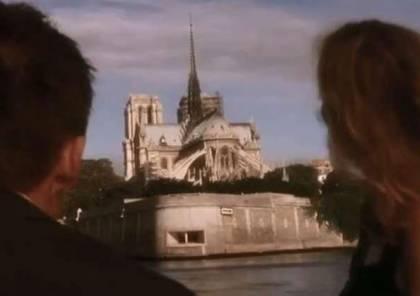 شاهد.. مشهد سينمائي توقع اختفاء كاتدرائية نوتردام قبل 15 عاما!
