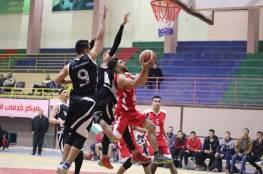 انتصارات للبريج وشباب المغازي وغزة الرياضي في دوري السلة