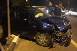 إصابة 5 مواطنين بحادث سير في نابلس