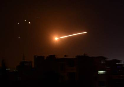 المشاهد الأولى للانفجار الذي سببه الصاروخ السوري قرب مفاعل ديمونا الإسرائيلي.. فيديو