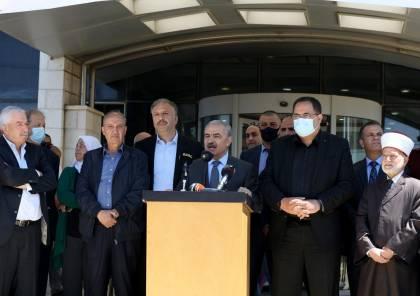 وقفة احتجاجية أمام مقر هيئة الإذاعة والتلفزيون رفضاً لقرار الاحتلال تمديد إغلاق مكتبها بالقدس