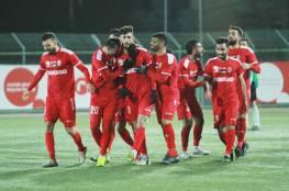 دوري المحترفين : فوزان لشباب وأهلي الخليل ودربي طولكرم ينتهي بالتعادل