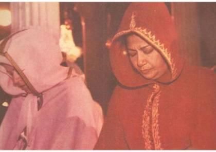 """صور نادرة لأم كلثوم أثناء صلاة الغائب للرئيس """"عبد الناصر"""""""
