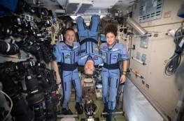 عودة رائدي فضاء أمريكيين وثالث روسي من المحطة الدولية إلى الأرض بسلام