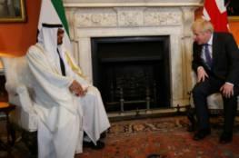 """أبوظبي ولندن تؤكدان على الأثر التاريخي لـ"""" اتفاقية إبراهيم """" الموقعة بين الإمارات وإسرائيل"""