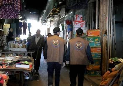 """غزة: """"مباحث التموين"""" تُحرر 32 محضر ضبط وإتلاف لتجار مُخالفين"""