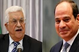 """الإعلام الإسرائيلي ينشر """"تسجيلا مسربا"""" لمحادثة بين عباس والسيسي بخصوص الإمارات .. و""""فتح"""" توضح!"""