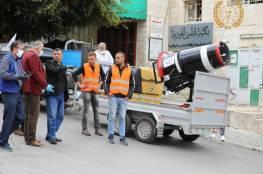 هيئة الأعمال الخيرية تبدأ استخدام جهاز متطور لتعقيم الشوارع والأحياء