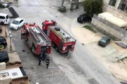 السيطرة على حريقين منفصلين في نابلس