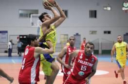 انتصاران لغزة الرياضي وخدمات الدير في افتتاح دوري جوال لكرة السلة