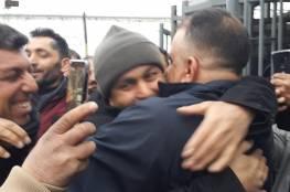 الاحتلال يفرج عن الأسير أبو حطب من عانين بعد قضاء أكثر من 17 عاما