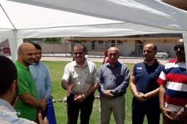 بلدية غزة تتفقد دورة مدربي ألعاب القوى