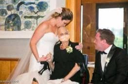 قصة زفاف مؤثرة.. حضرت زواج ابنتها ثم ماتت