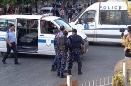 الأجهزة الأمنية تعتقل 15 ناشطاً قبيل مسيرة في رام الله تنديداً باغتيال نزار بنات